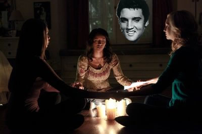 elvis the king is dead seance the proof contact ouija board