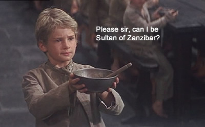 please sir can i have some more oliver gruel sultan of swing