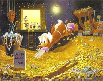 scrooge mcduck richest fitional character Forbes magazine 15