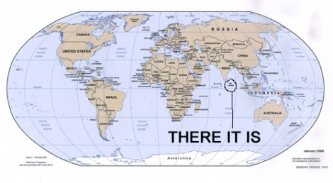 At least i was right about the india bit it s an island which i