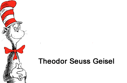 Dr Seuss theodor seuss geisel cat in the hat