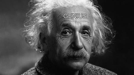 genius albert einstein plural of genius genii