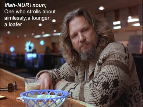 The dude the big lebowski white russian