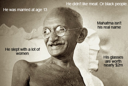 mahatma gandhi facts