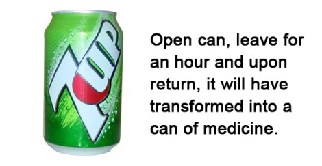 flat soft drinks medicine