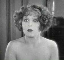 Clara Bow nude in wings